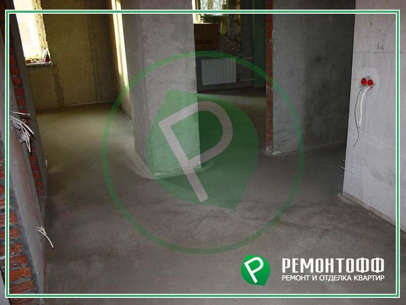 Ремонт под ключ черновой квартиры